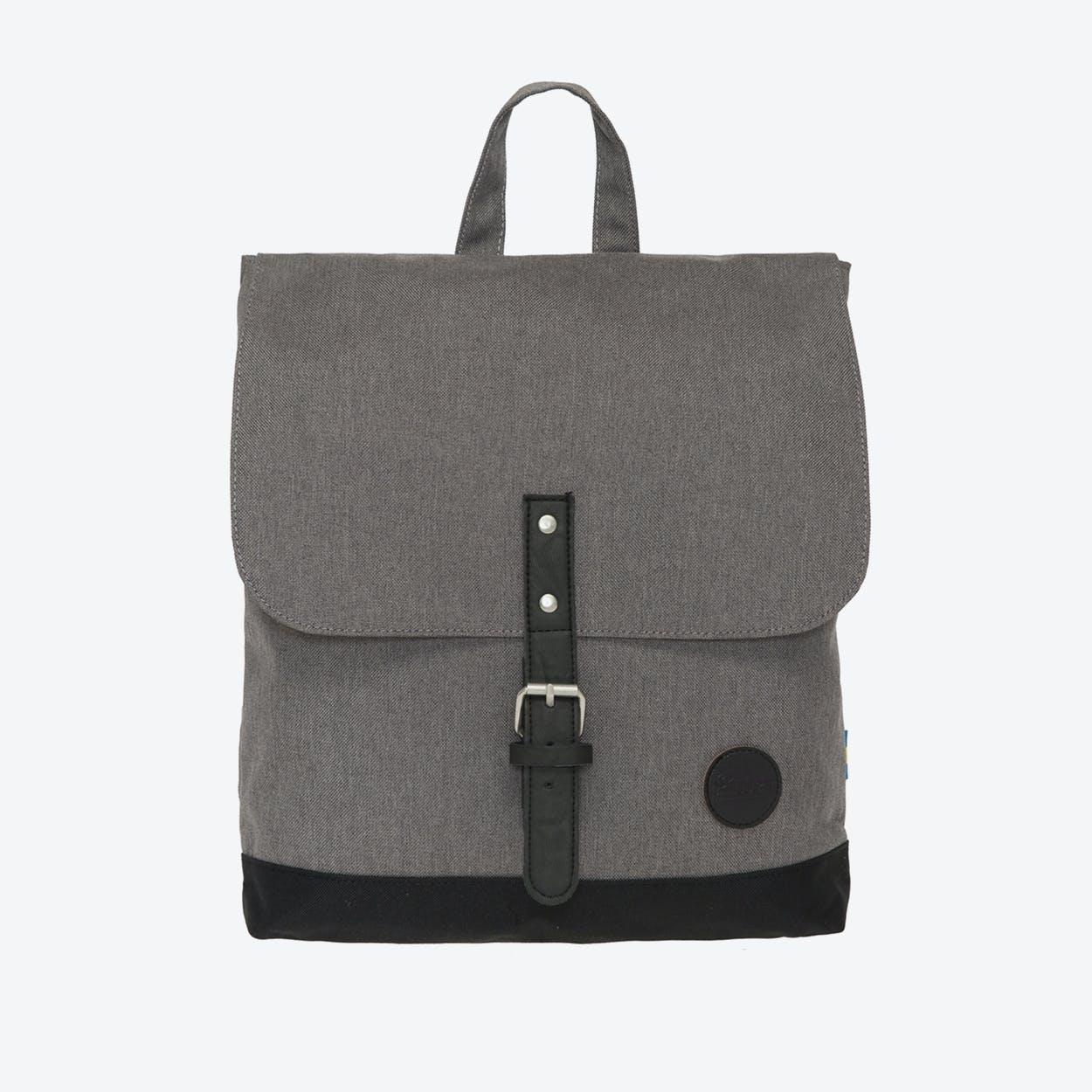 Backpack Mini - Melange Grey/Black Base