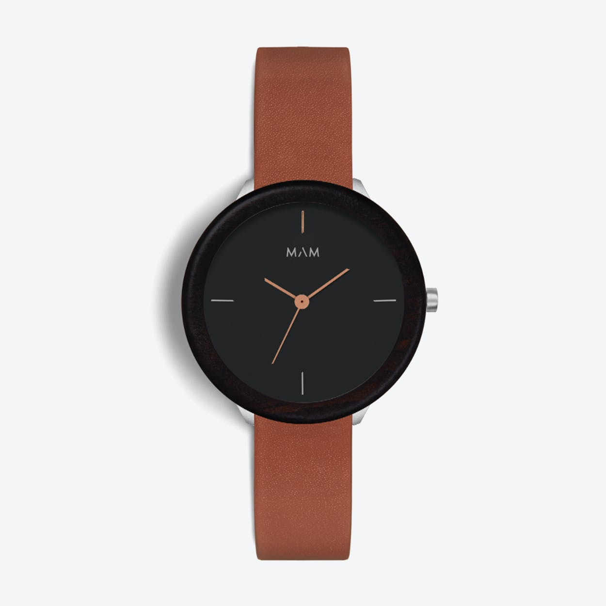 Stainless Dark Ebony Fauve Watch