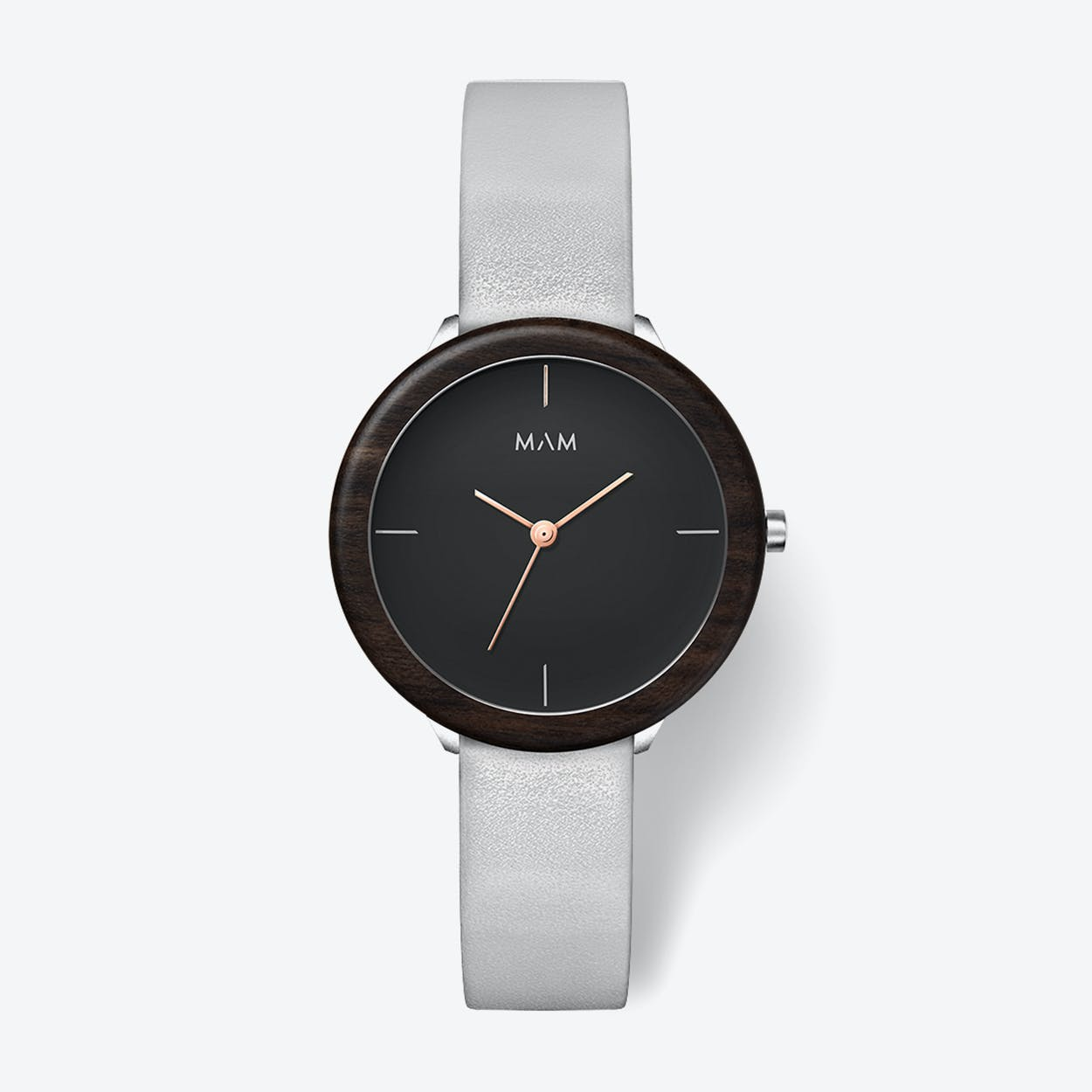 Stainless Dark Ebony Grey Watch