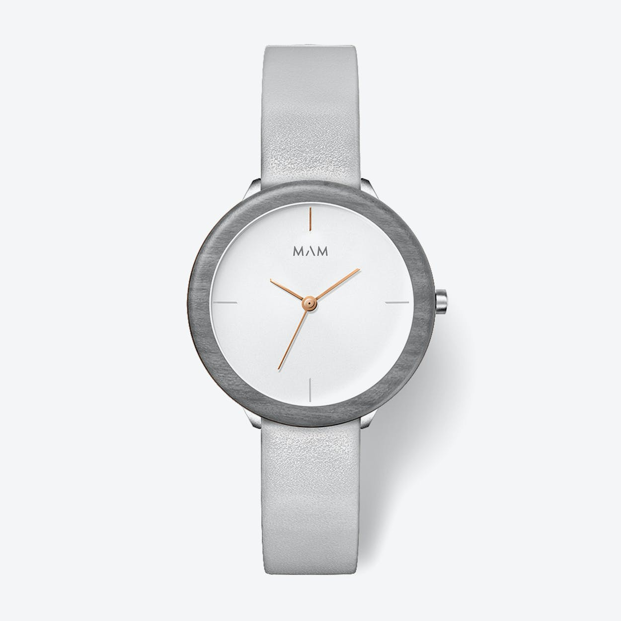 Stainless Light Maple Grey Watch