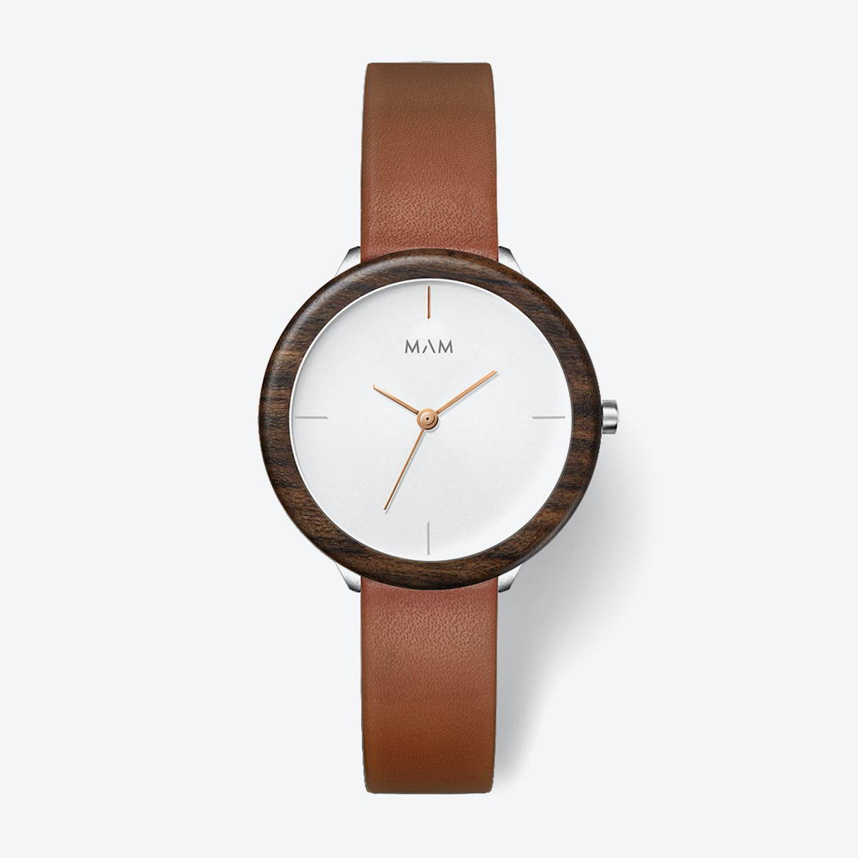 Stainless Light Teak Fauve Watch