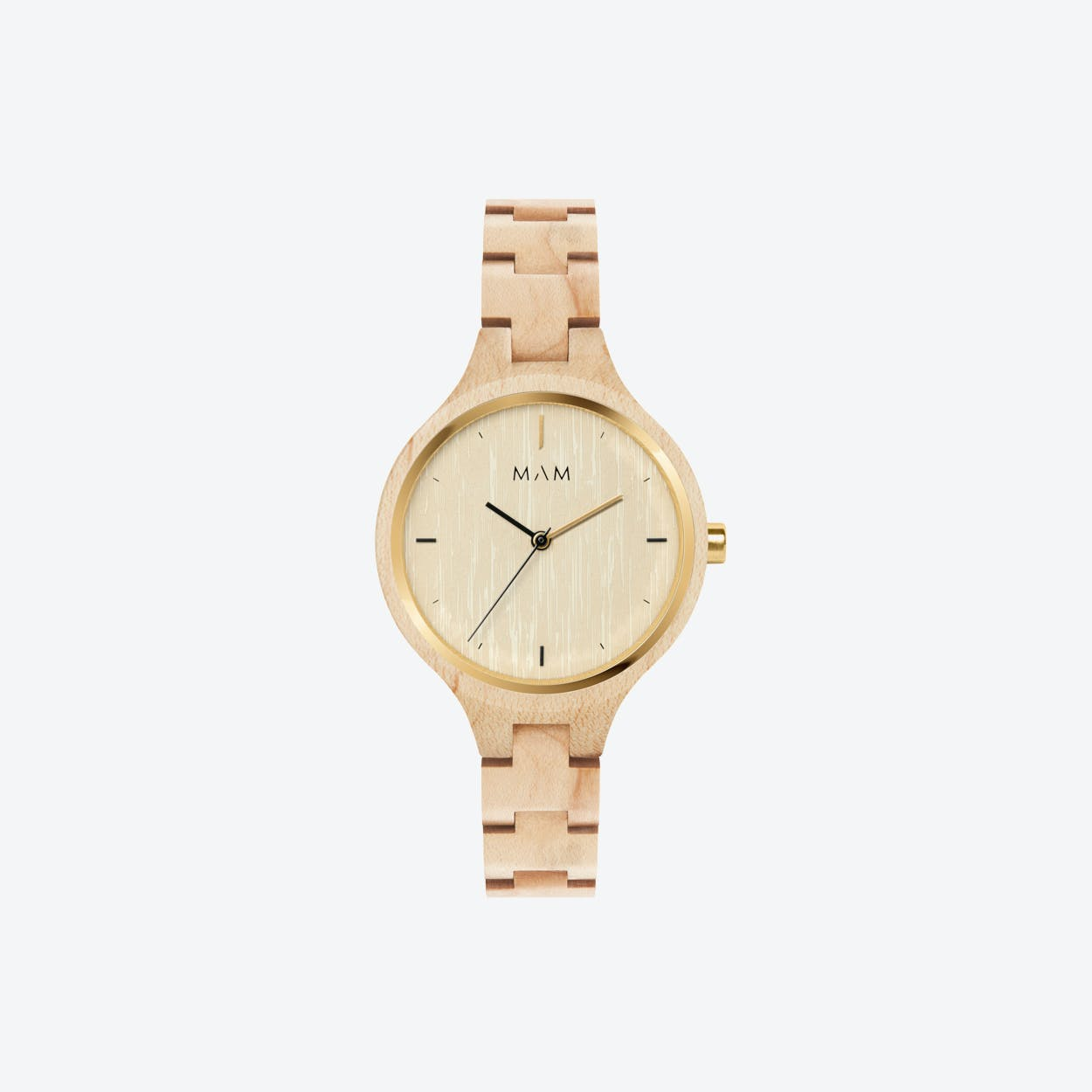 Silt Wooden Watch in Light Wood 34mm