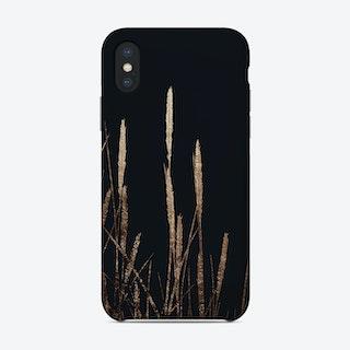 Golden Fields In The Dark Phone Case
