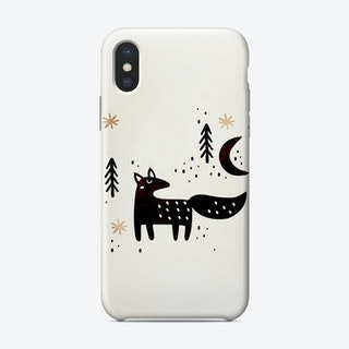 Little Winter Fox Phone Case