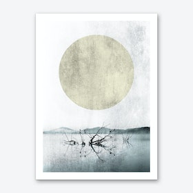 At The Riverside Art Print
