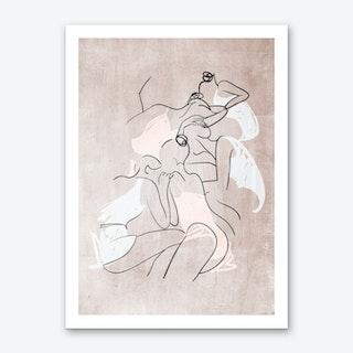 Les Femmes Fatales Art Print