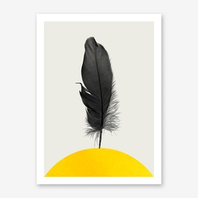 Dancing Feather Art Print