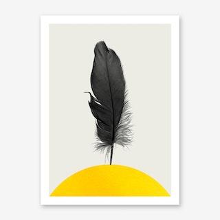 Dancing Feather Art Print