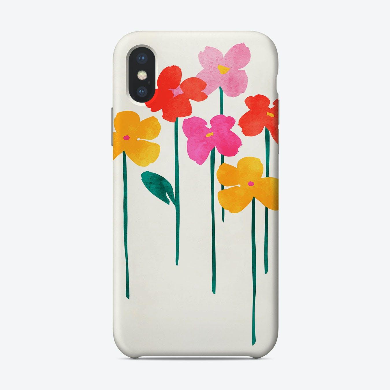 Happy Flowers Phone Case