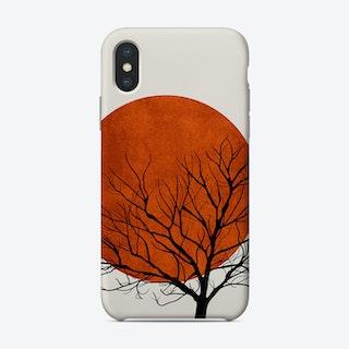 Winter Sunset Phone Case
