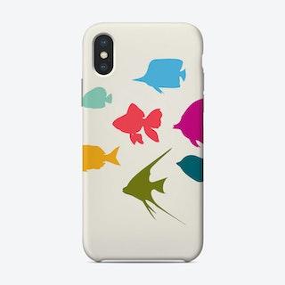 Happy Fish Family Phone Case