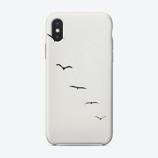 Five Birds Phone Case