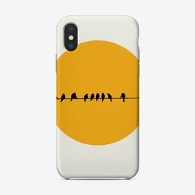 Sleeping Birds Phone Case