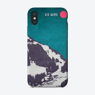 Les Alpes Phone Case