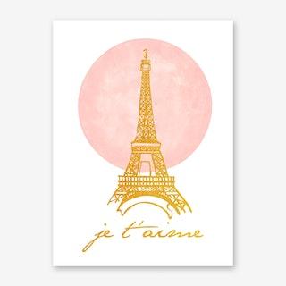 Paris My Love Art Print