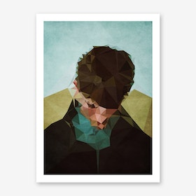 Sad Boy Art Print
