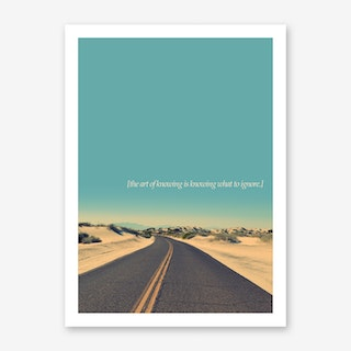 The Art Of Knowing Art Print