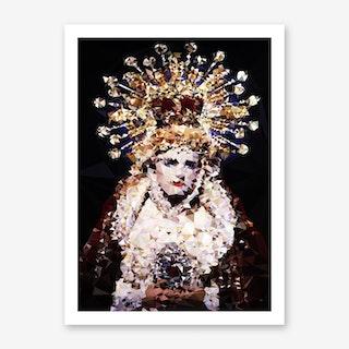 Black Madonna Art Print
