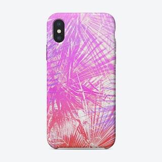 Neon Jungle iPhone Case