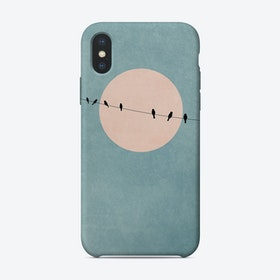 The Beauty Of Silence iPhone Case