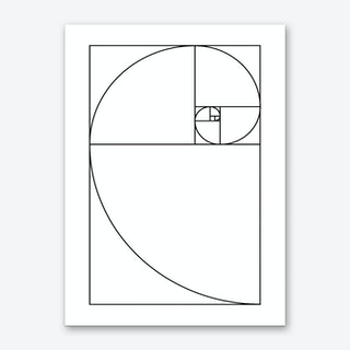 Proportio Divina (White) Art Print