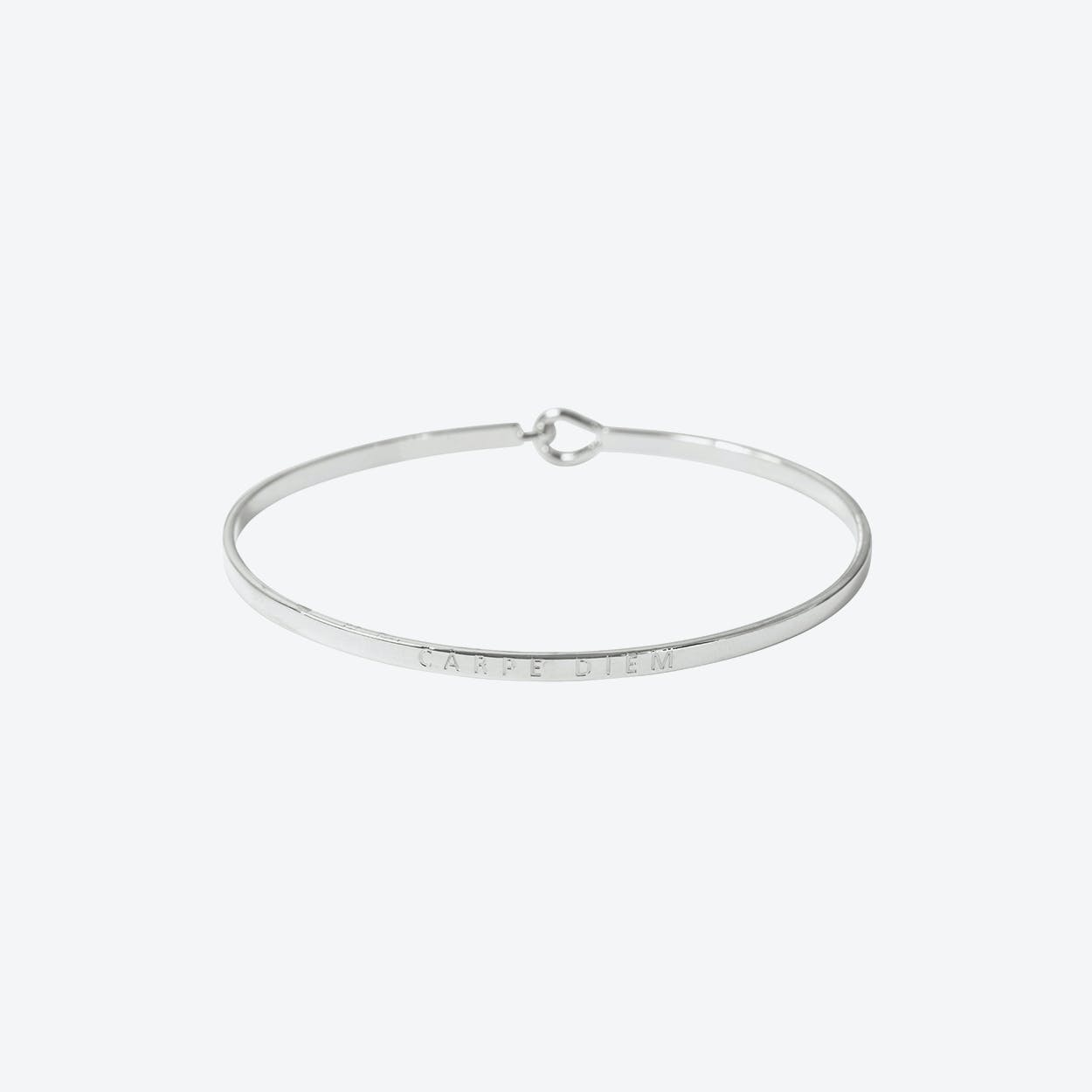 Siler Carpe Diem Bangle with Hook Fastening