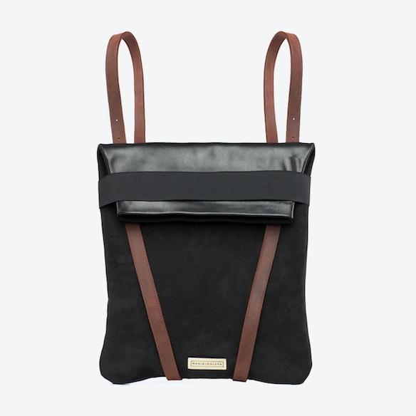 43bd669a97 Backpack Black by Maria Maleta - Fy