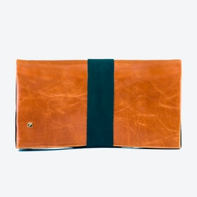 Clutch Camel and Suede