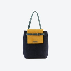 Yellow Jungle Bucket Bag
