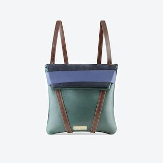 Reversible Moss Backpack