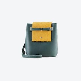 Mini Green Bucket Bag