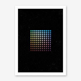 Dotted Square Art Print