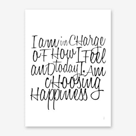 In Charge Art Print