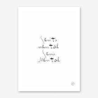 Sentimental Art Print