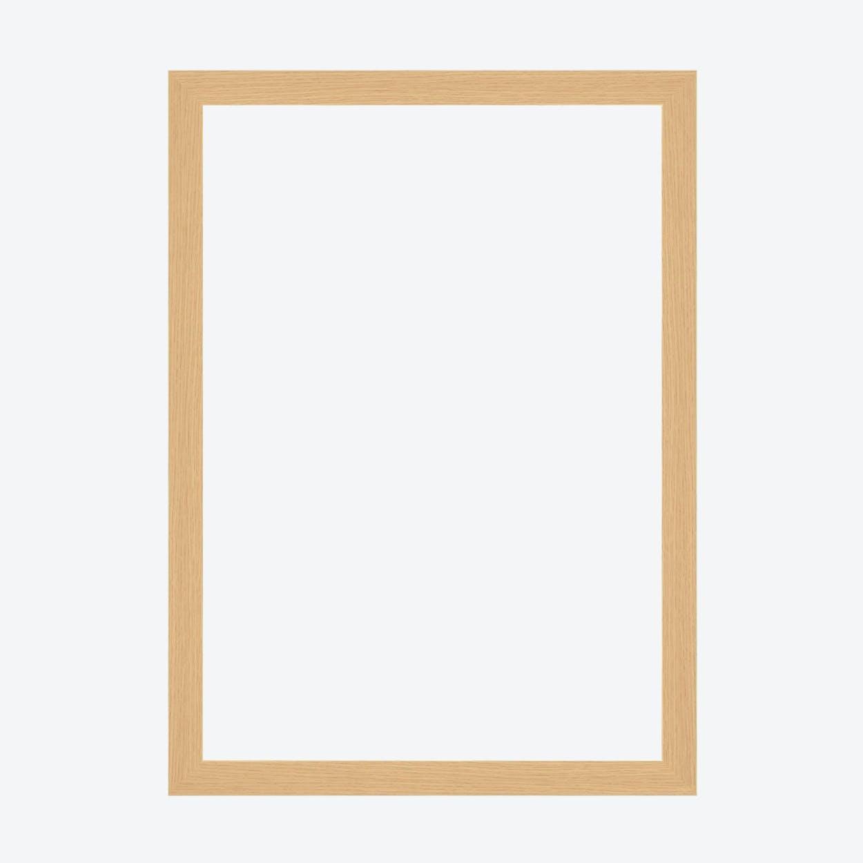 Raw Oak Frame