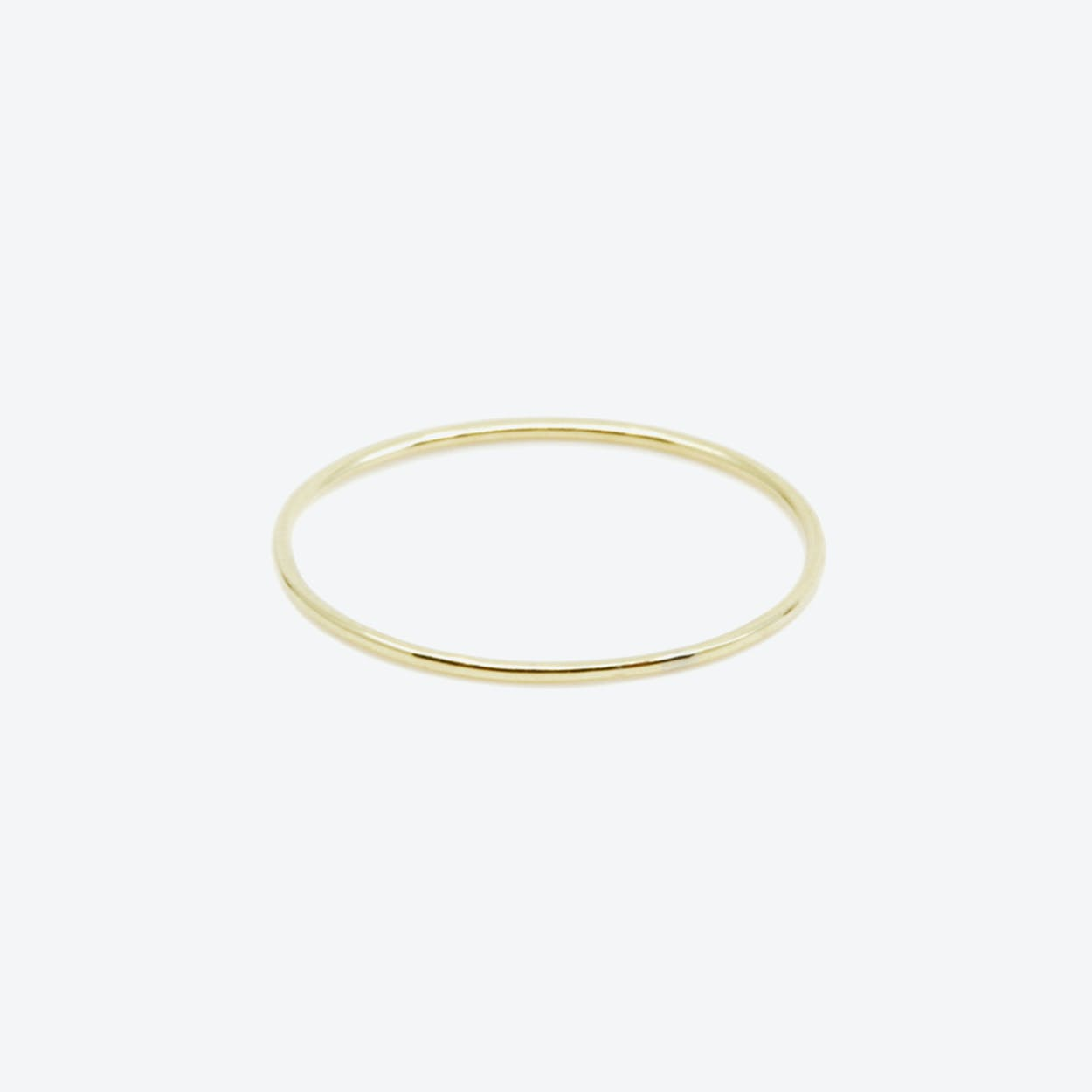 RING Thin in Yellow Gold