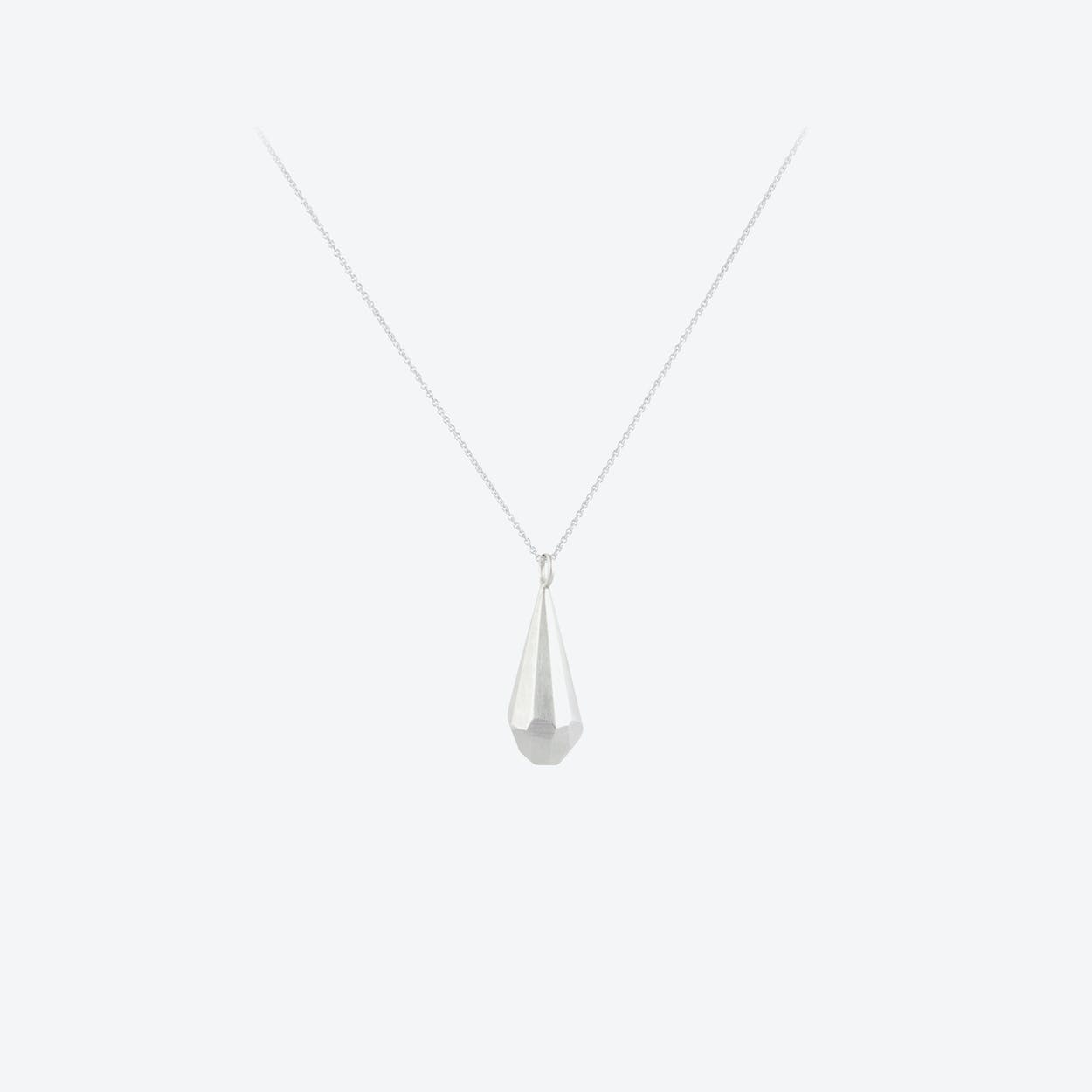CRYSTAL Necklace in Sterling Silver