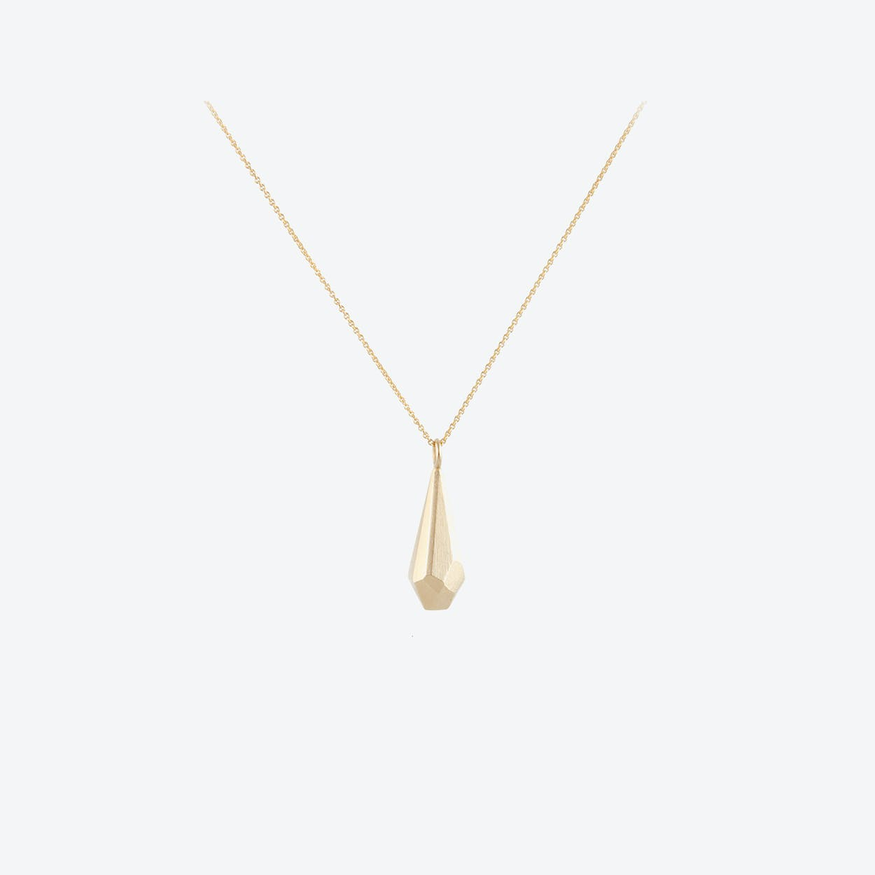 CRYSTAL Necklace in 14kt Gold