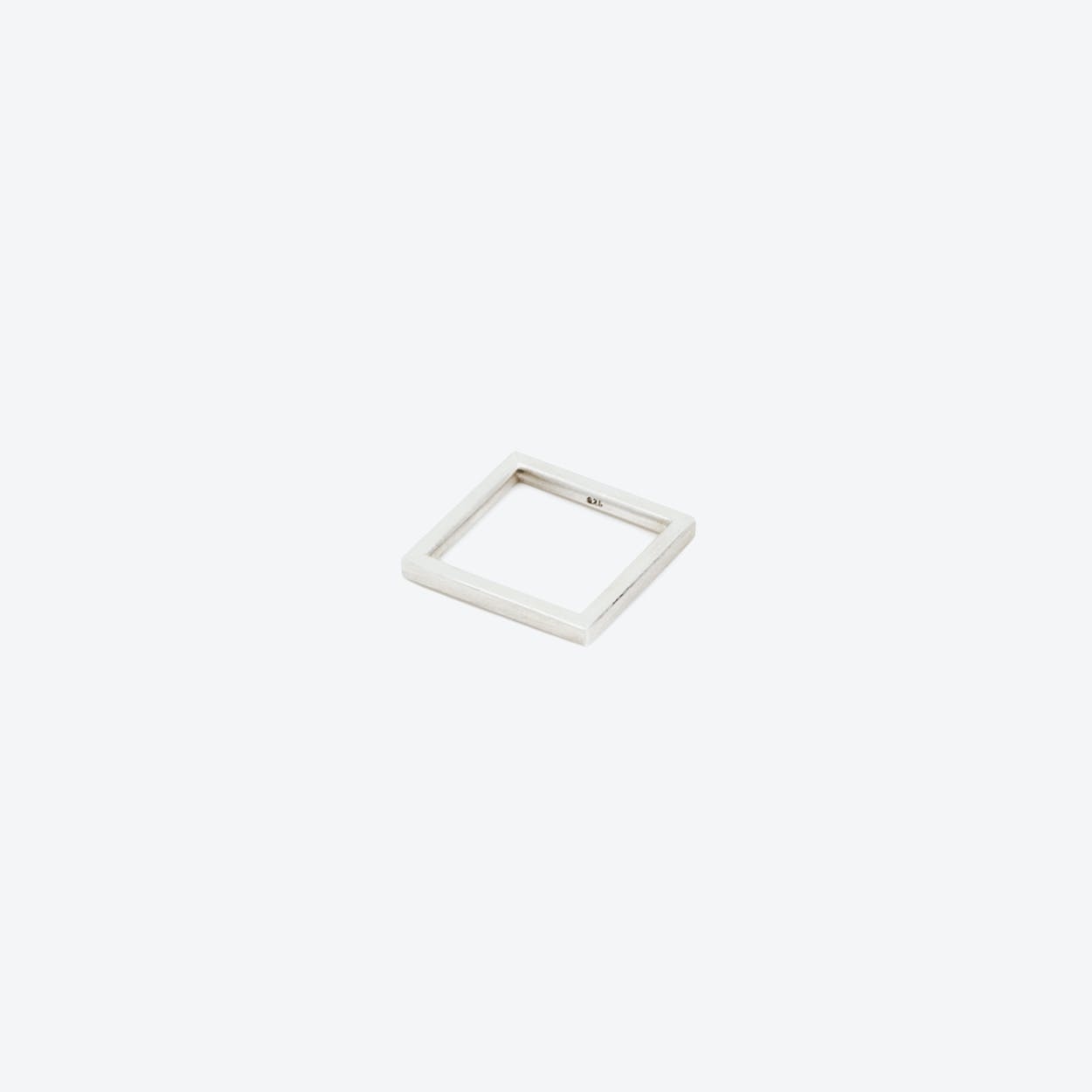 SQUARE Ring in Silver 2