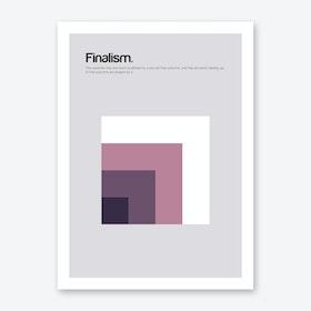 Finalism Art Print
