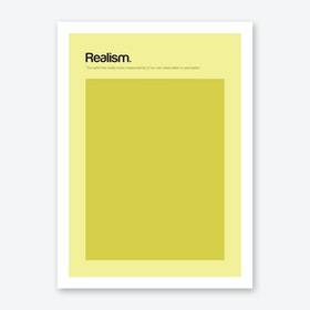 Realism Art Print