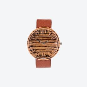 Zebrano Colors Wooden Watch