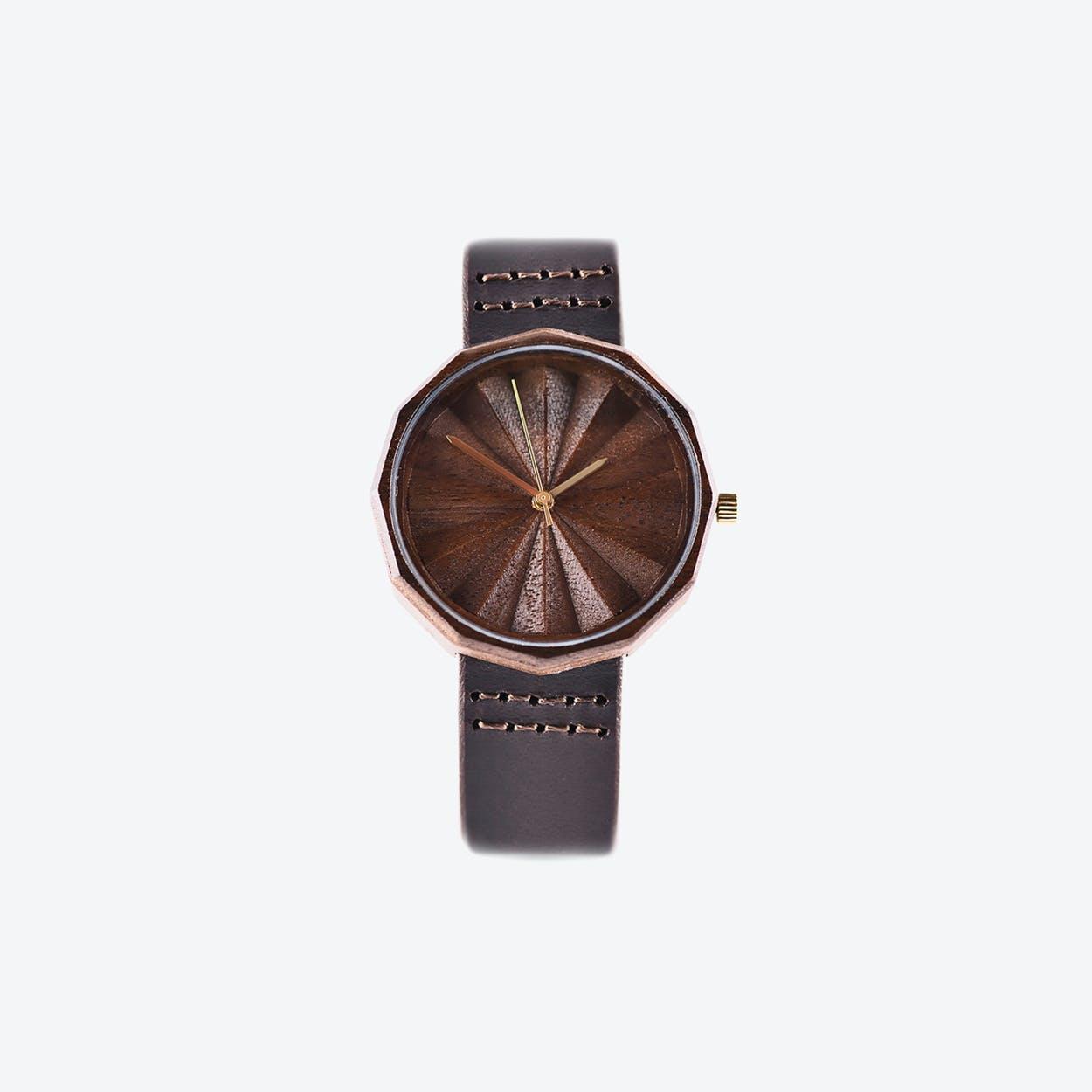 Natura 36 Wooden Watch
