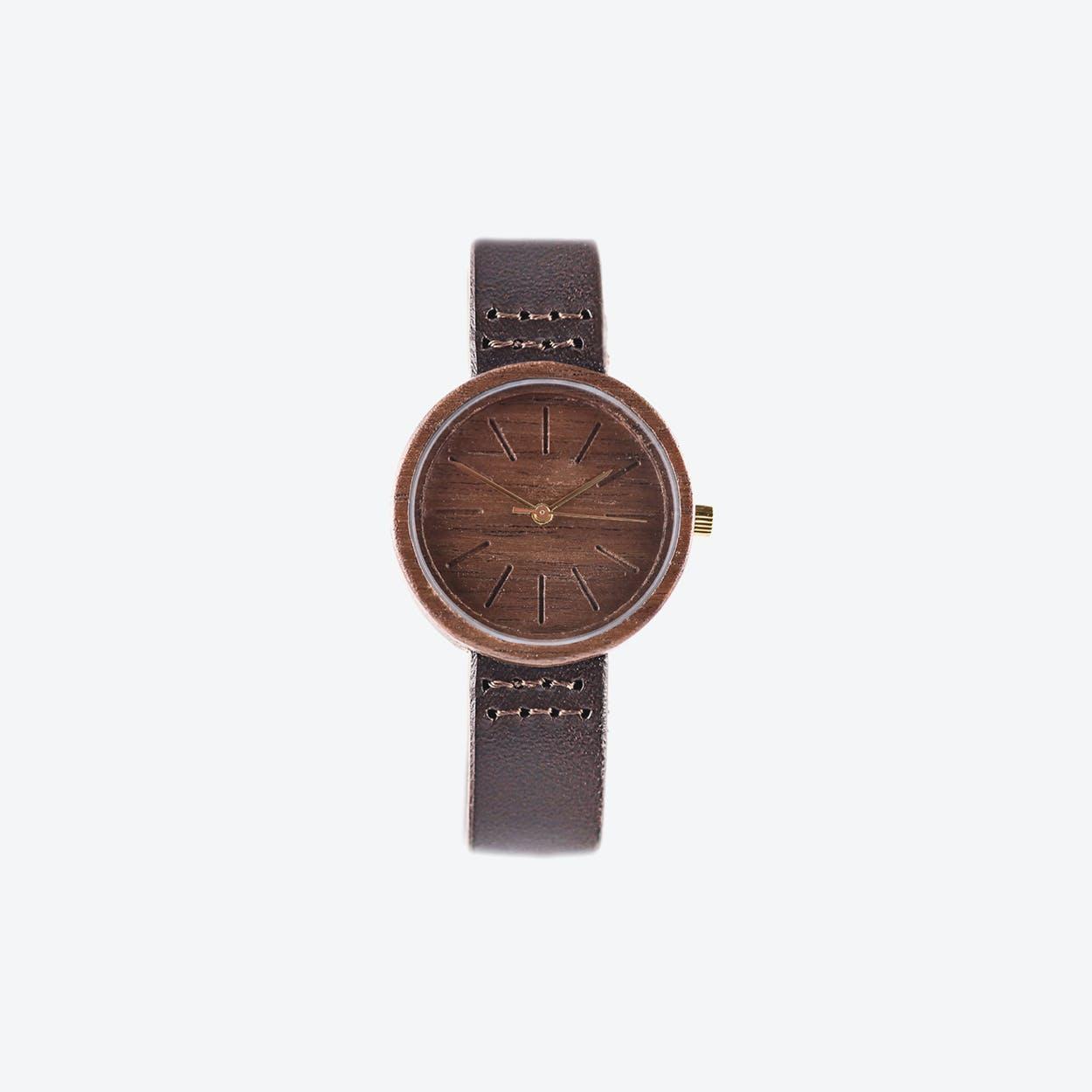 Tribus Wooden Watch