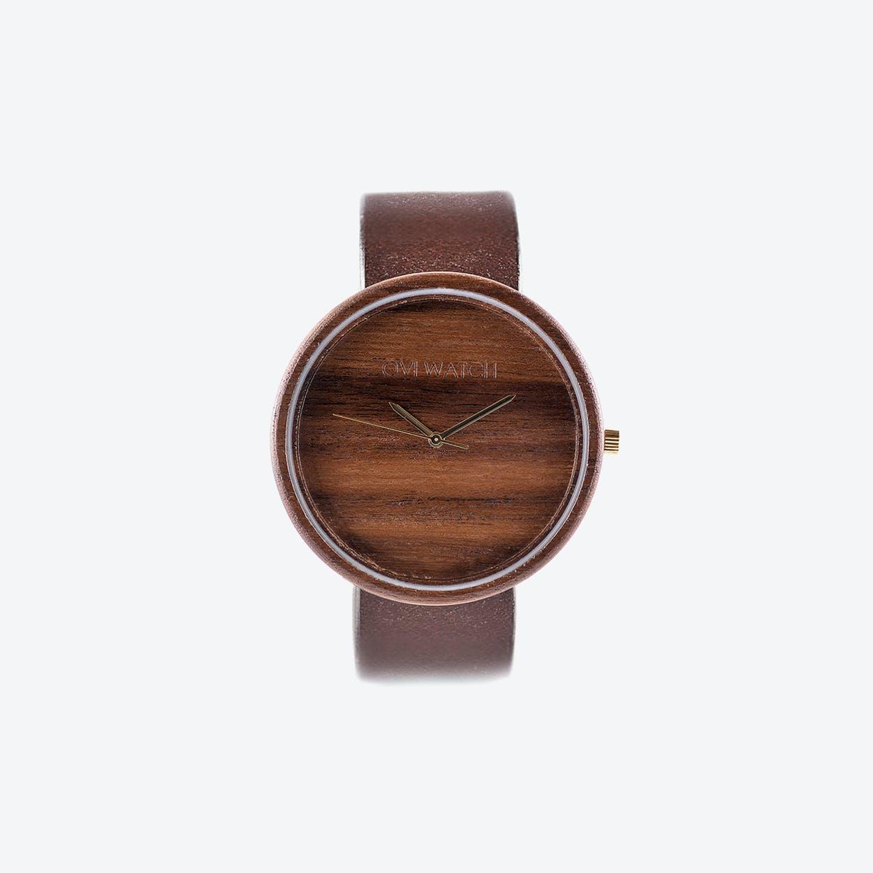 Avium Wooden Watch