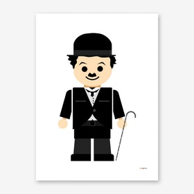 Toy Charles Chaplin Art Print