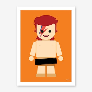 Toy David Bowie Art Print