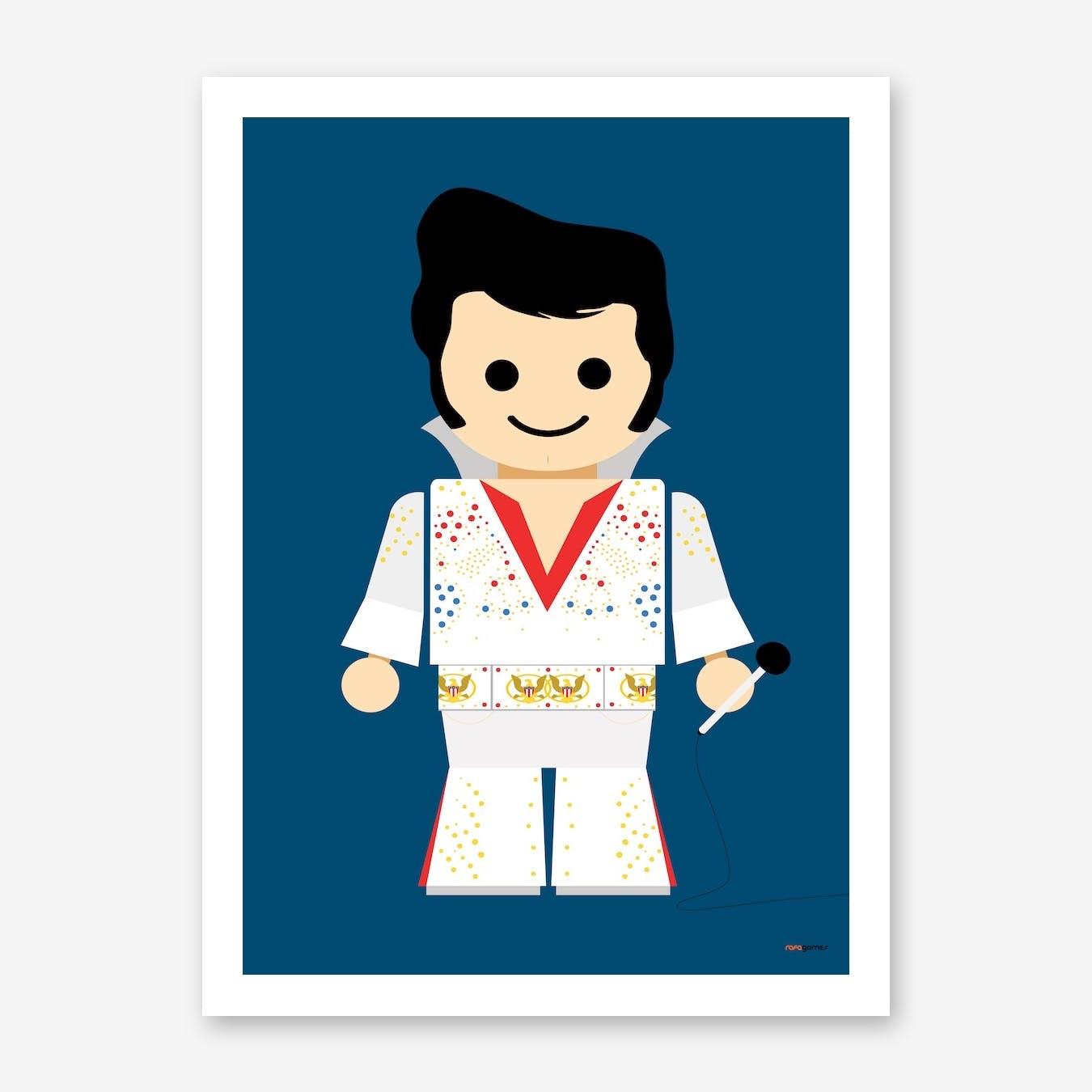 Toy Elvis