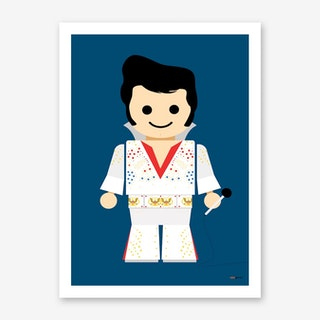 Toy Elvis Art Print