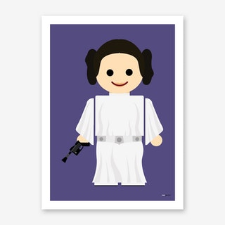 Toy Princess Leia Art Print